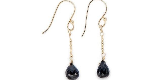 Nkuku Bego Onyx earrings