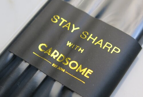 Cardsome Stay sharp 6 pack of pencils