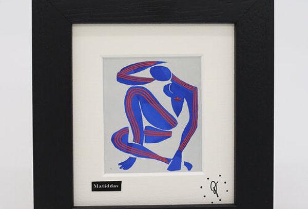 Ross Muir mini Matiddas framed print
