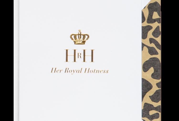Cardsome Mini Cards HRH her royal hotness