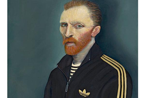 Ross Muir Square Gogh print