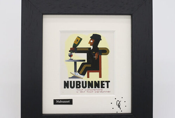 Ross Muir mini Nubunnet framed print