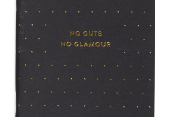 Cardsome Notebook NO GUTS NO GLAMOUR