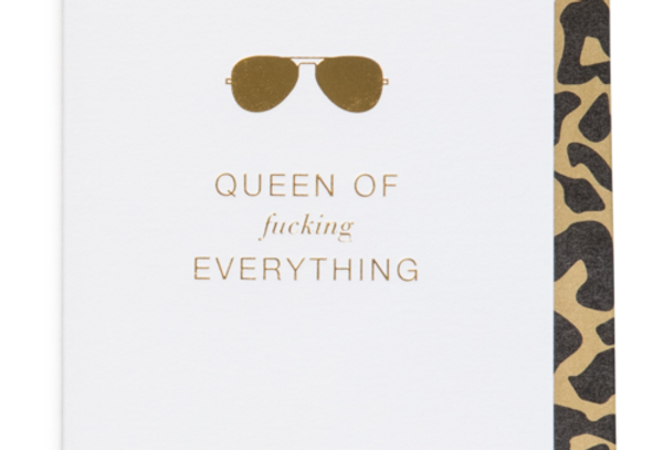 Cardsome Mini Cards Queen of fucking everything