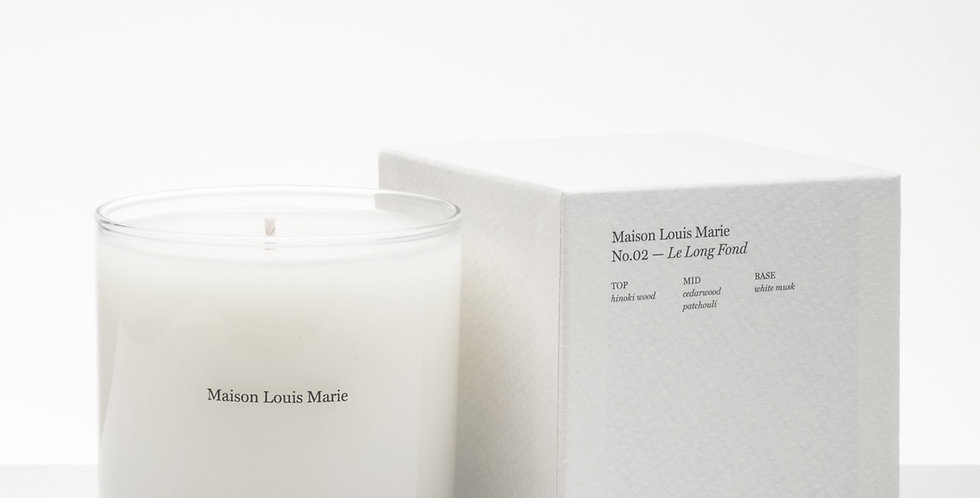 Maison Louis Marie Le Long Ford candle