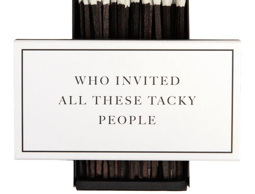 Cardsome Matches Who invited all these tacky people