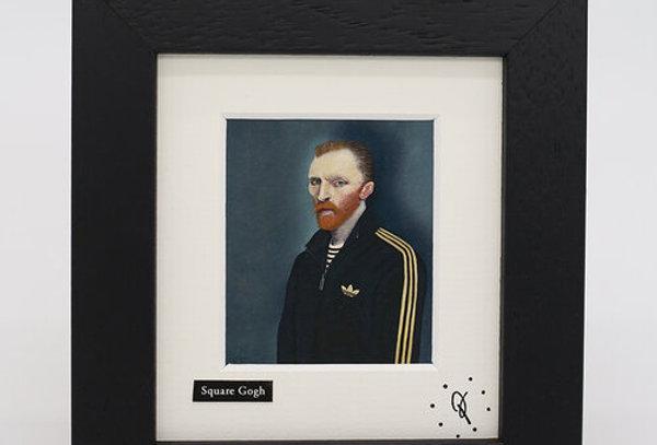 Ross Muir mini Square Gogh framed print