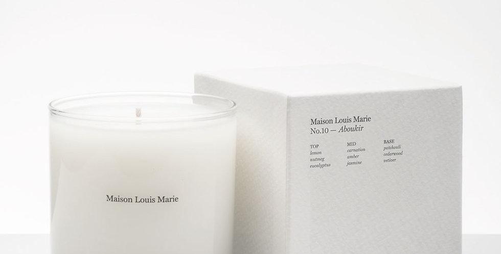 Maison Louis Marie Aboukir candle