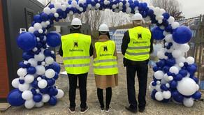 🏗 Направихме първа копка на проекта Blue Danube, Козлодуй.