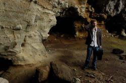 Cave on Sarushima