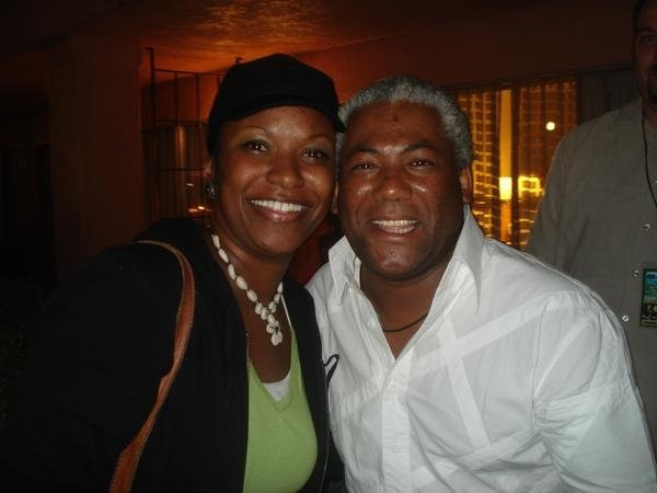 Carmen with Jonathan Butler
