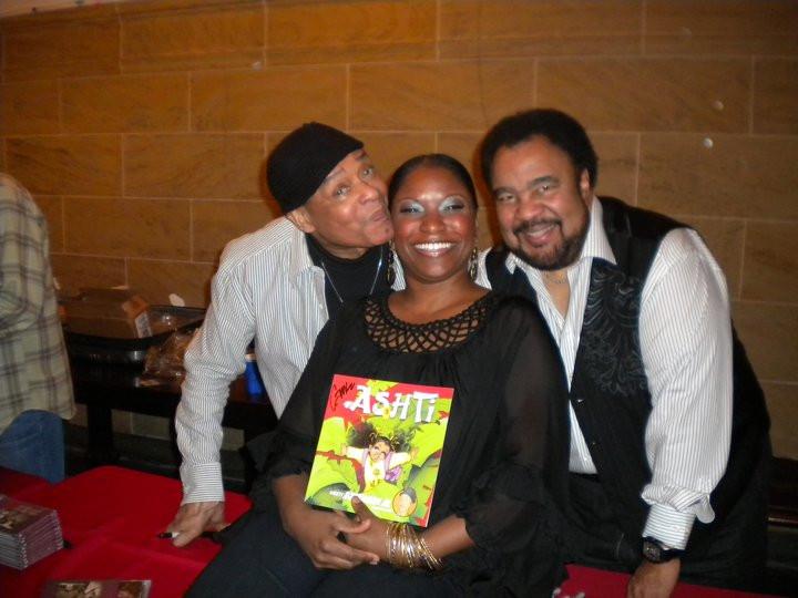 Carmen with Al Jarreau