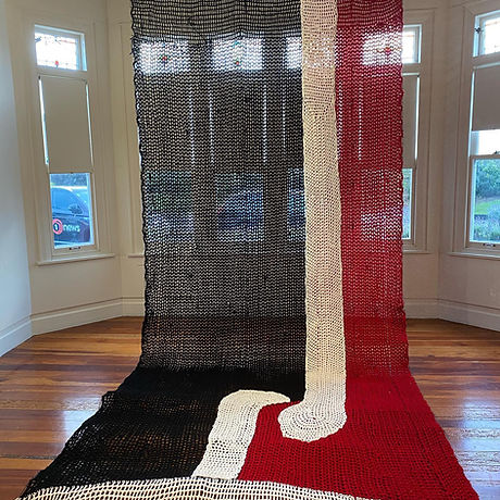 Tino Rangatiratanga Flag crochet