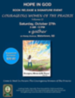 Courageous Women of the Prairie Book Rel