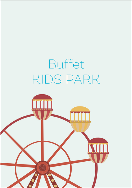 Cardápio Buffet Kids Park