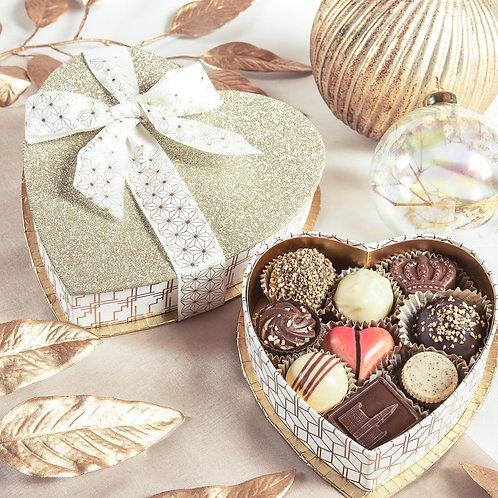 Love X-mas   Geschenkbox mit Pralinen