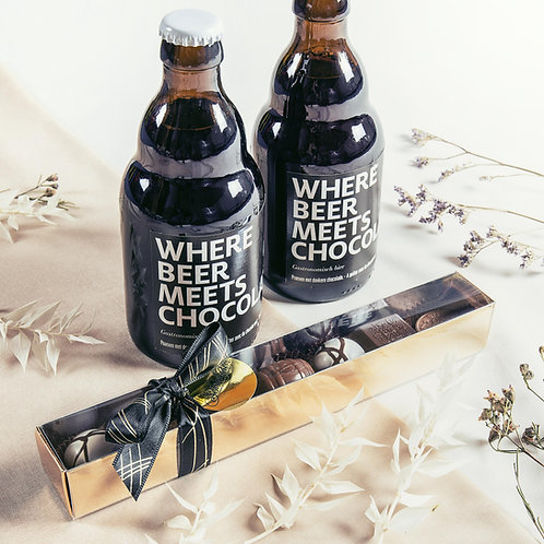 Where Beer meets Chocolate | Geschenkset
