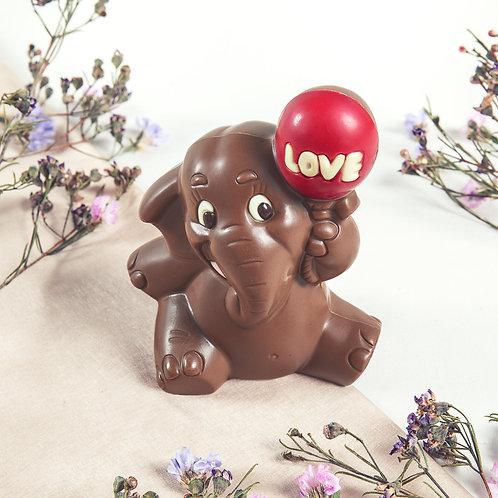 Love Elephant | Schokoladen-Elefant | ca. 90g