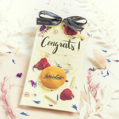 """Tafel DeLuxe """"Congrats!"""" (ca.90g)"""