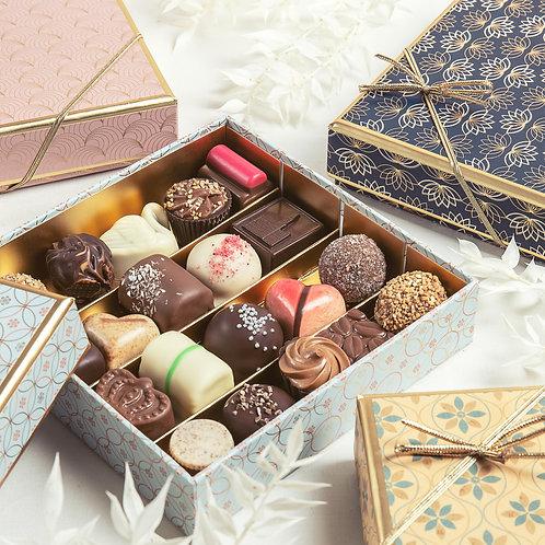 Gold Delight | Geschenkbox mit Pralinen