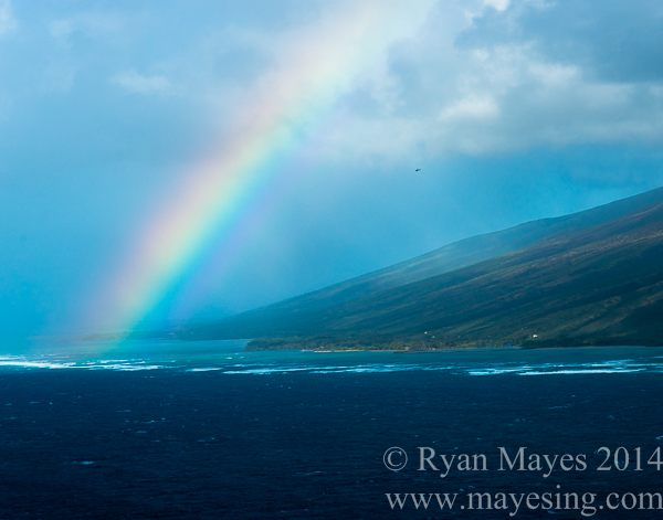 Rainbow over Molokai