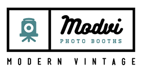 Modvi Photo Booth Rentals Logo