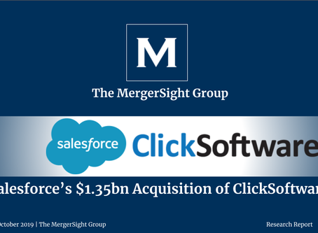 Salesforce's $1.35bn Acquisition of ClickSoftware