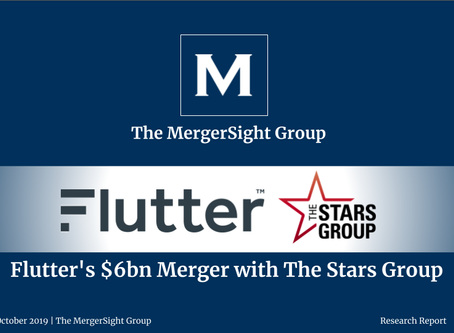 Flutter's $6bn Merger with The Stars Group