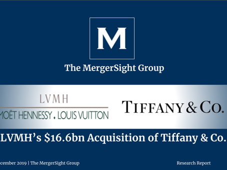LVMH's $16.6bn Acquisition of Tiffany & Co.