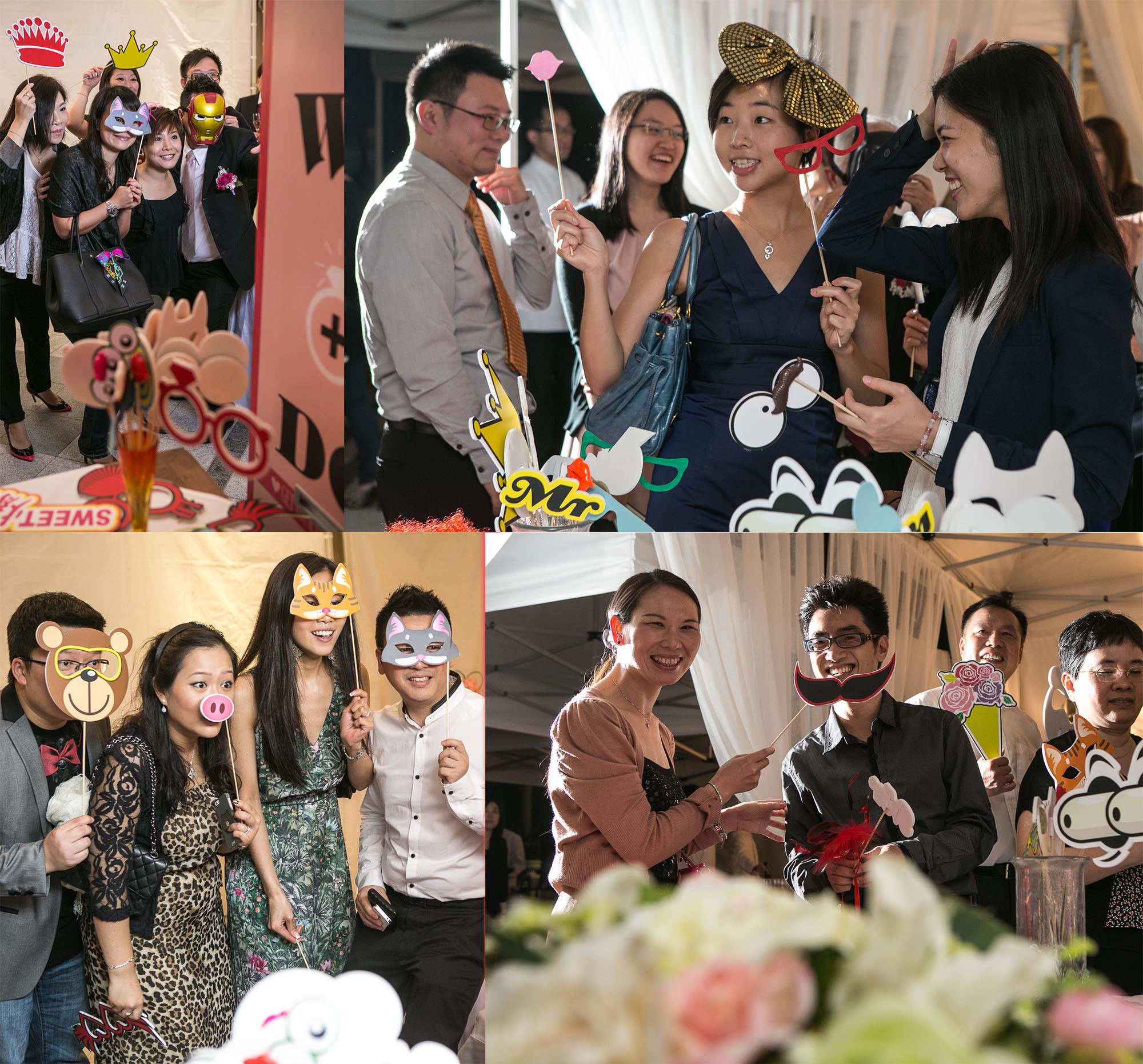 Photo Booth Service Making of