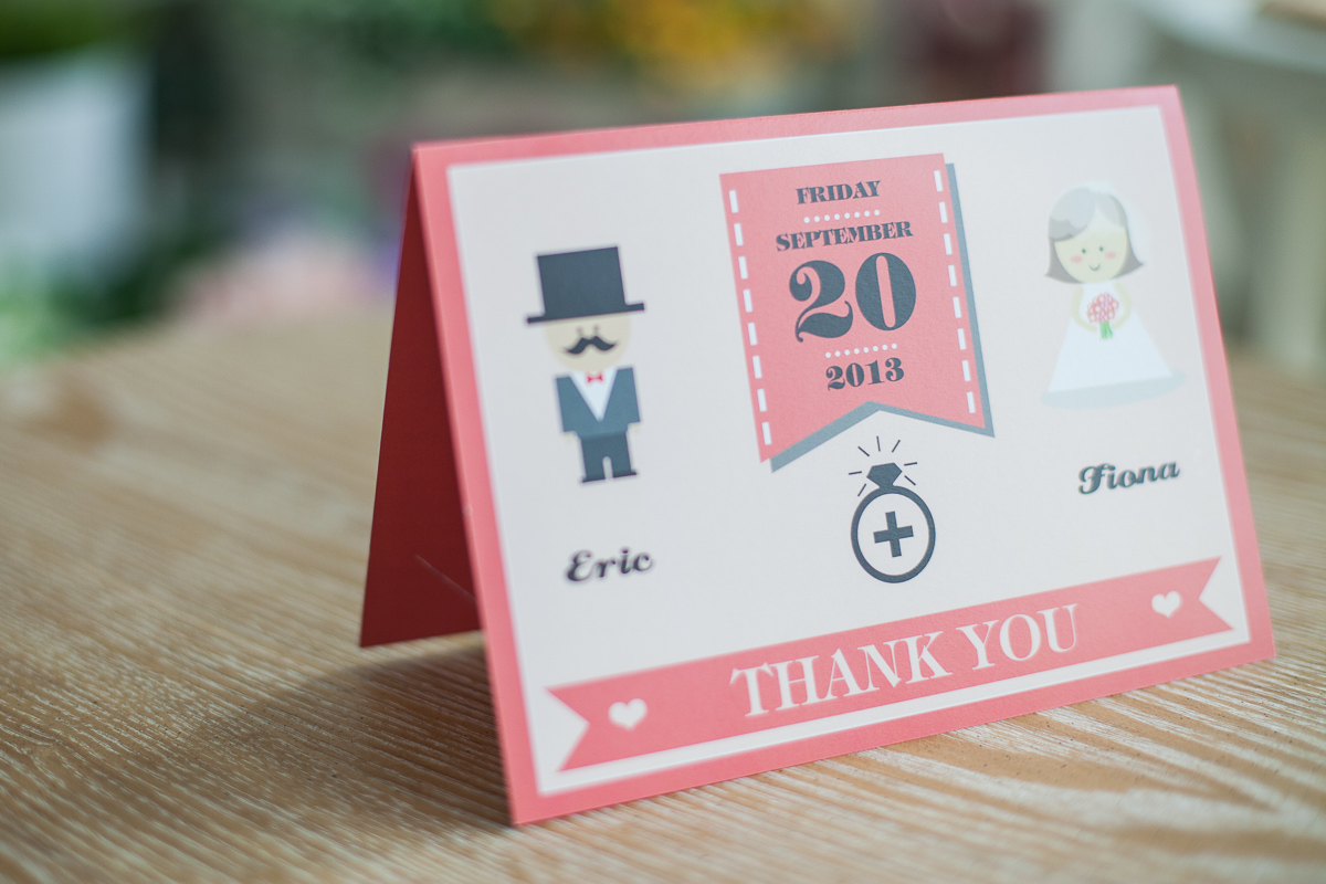 Thank You Card Sample