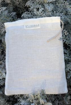 Petit sac Kanabag-gaze de chanvre