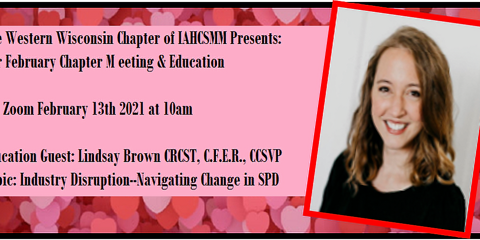 February 2021 Chapter Meeting
