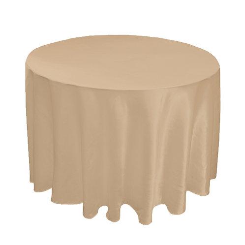 SATIN CREAM TABLE CLOTH