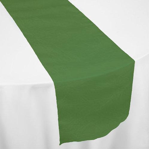 OLIVE GREEN TAFFETA RUNNER