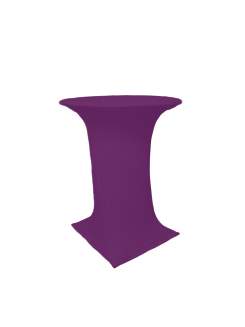 SPIRITS PURPLE COCTAIL STRETCH TABLE CLOTH