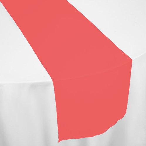 RED ORGANZA RUNNER