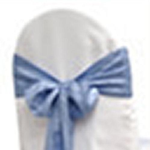 BABY BLUE TAFFETA TIEBACK