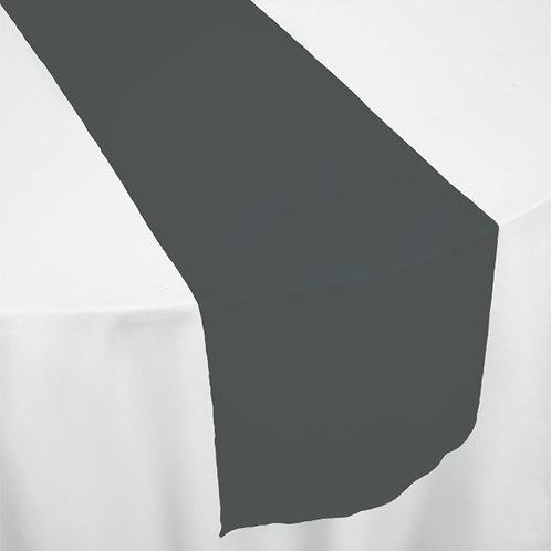 BLACK ORGANZA RUNNER