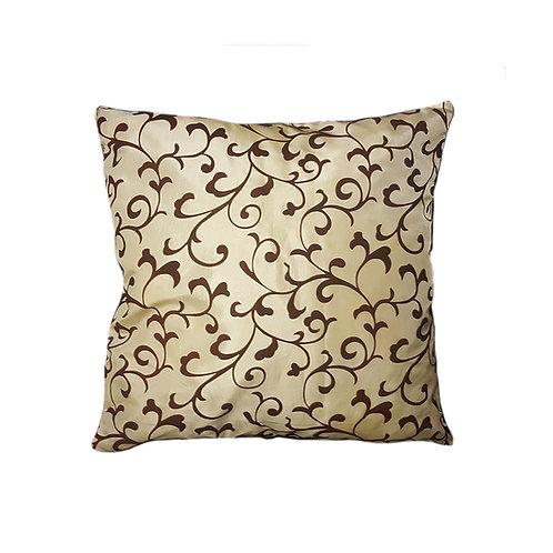 Beige & Brown Flower pattern