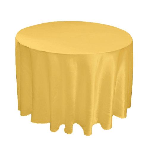 SATIN GOLD TABLE CLOTH