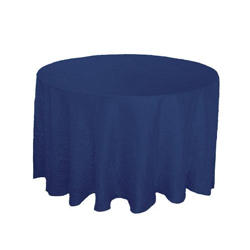 CRUSHED TAFFETA NAVY BLUE