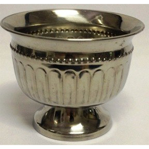 SILVER BEADED BOWL (SMALL)