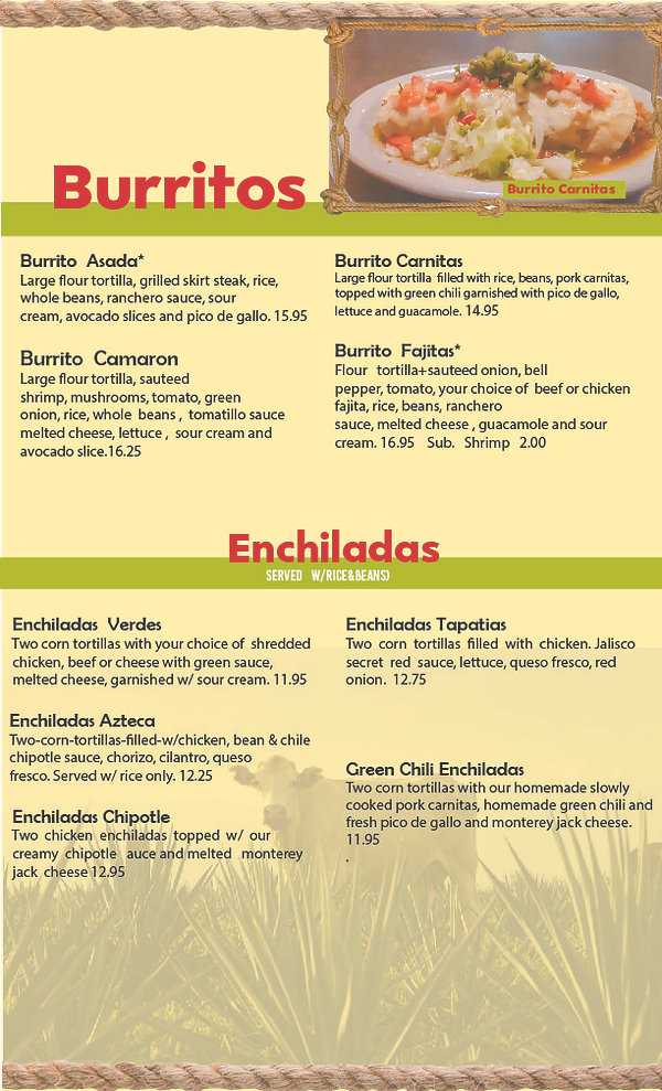 Jalisco Gril Menu Final - Updated - page