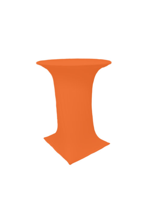 ORANGE COCTAIL STRETCH TABLE CLOTH