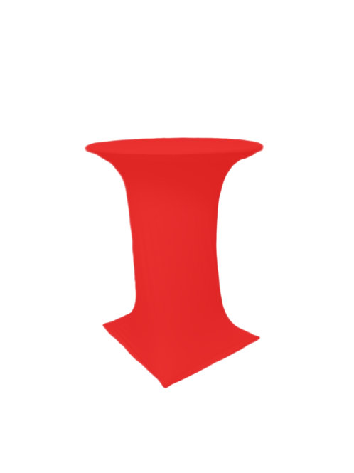 RED COCTAIL STRETCH TABLE CLOTH