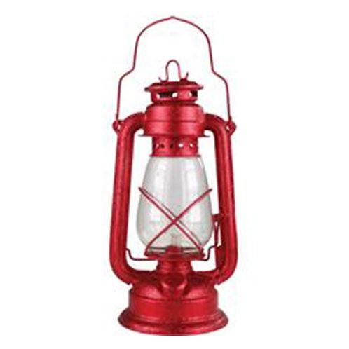 Red Hurricane Lamp