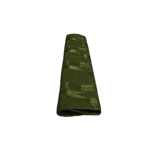 OLIVE GREEN PATTERN DAMASK SERVIETTE