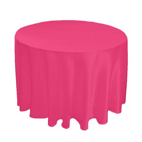 SATIN PINK TABLE CLOTH