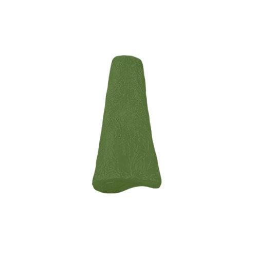 OLIVE GREEN CRUSHED TAFFETA SERVIETTE